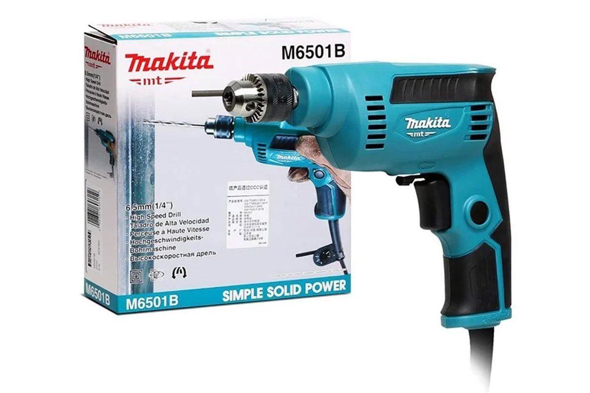 [KM 699K] Máy khoan sắt6.5mm Makita M6501B