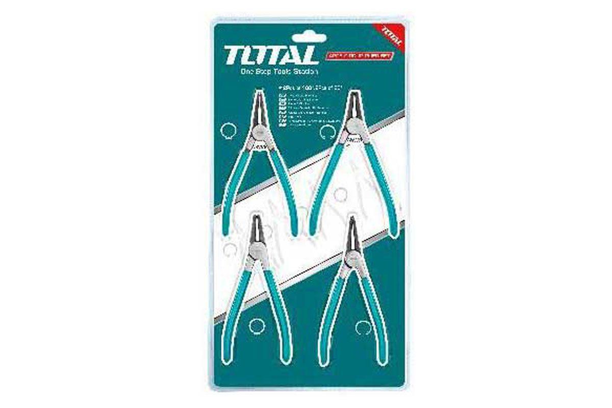 Bộ 4 kềm mở phe 125mm Total THTJ214041