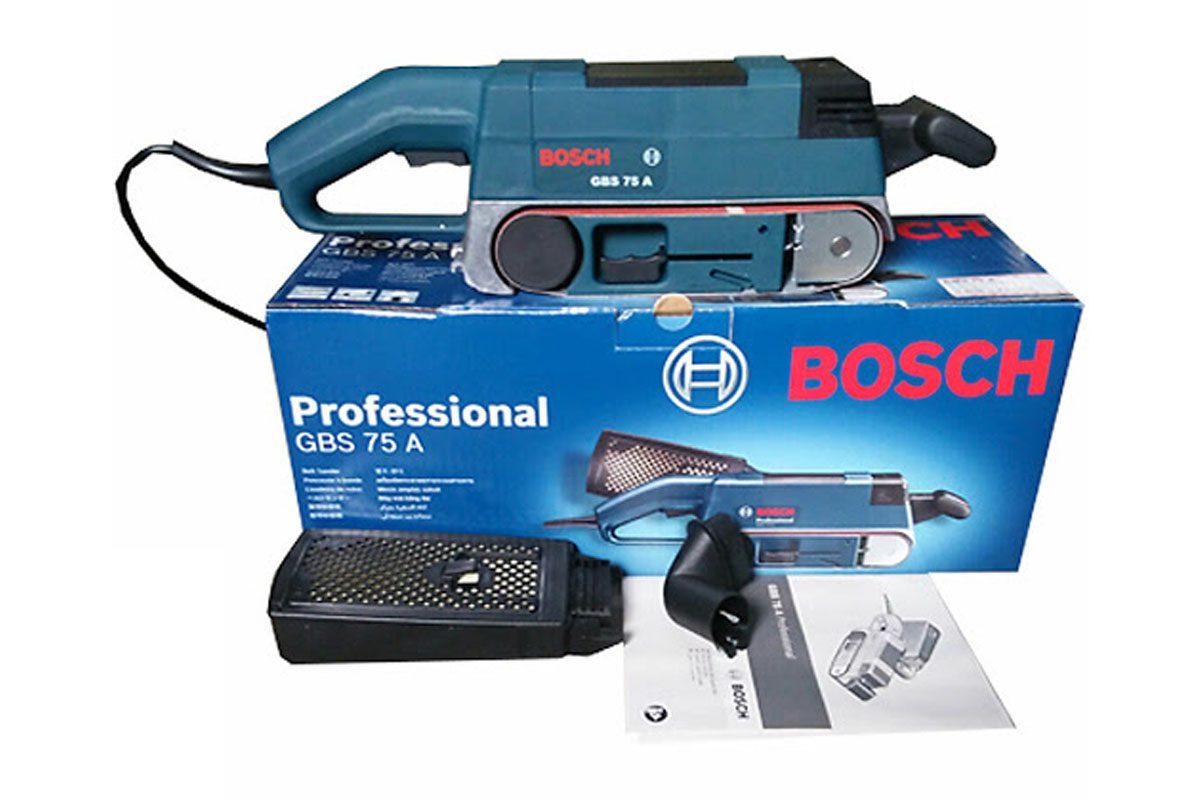 Máy chà nhám băng 75mm Bosch GBS 75A