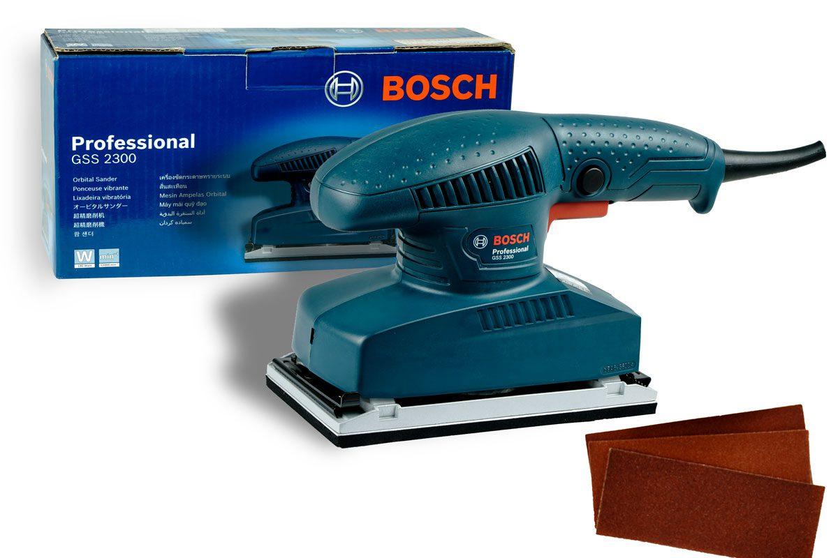 Máy chà nhám chữ nhật 93x230mm Bosch GSS 2300