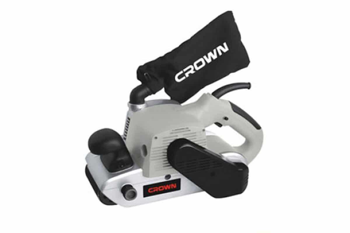 Máy chà nhám băng 610x100mm CROWN CT 13200