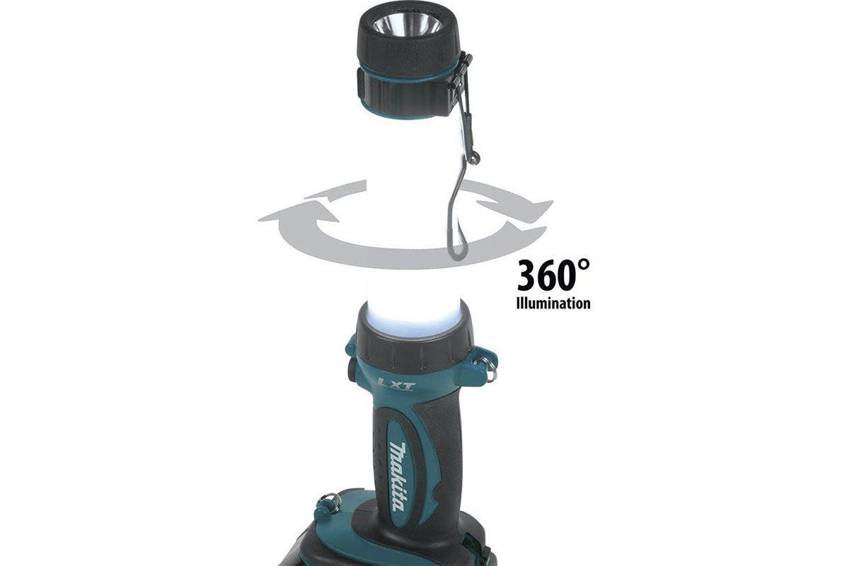 Thân đèn led dùng pin 18V Makita DML807