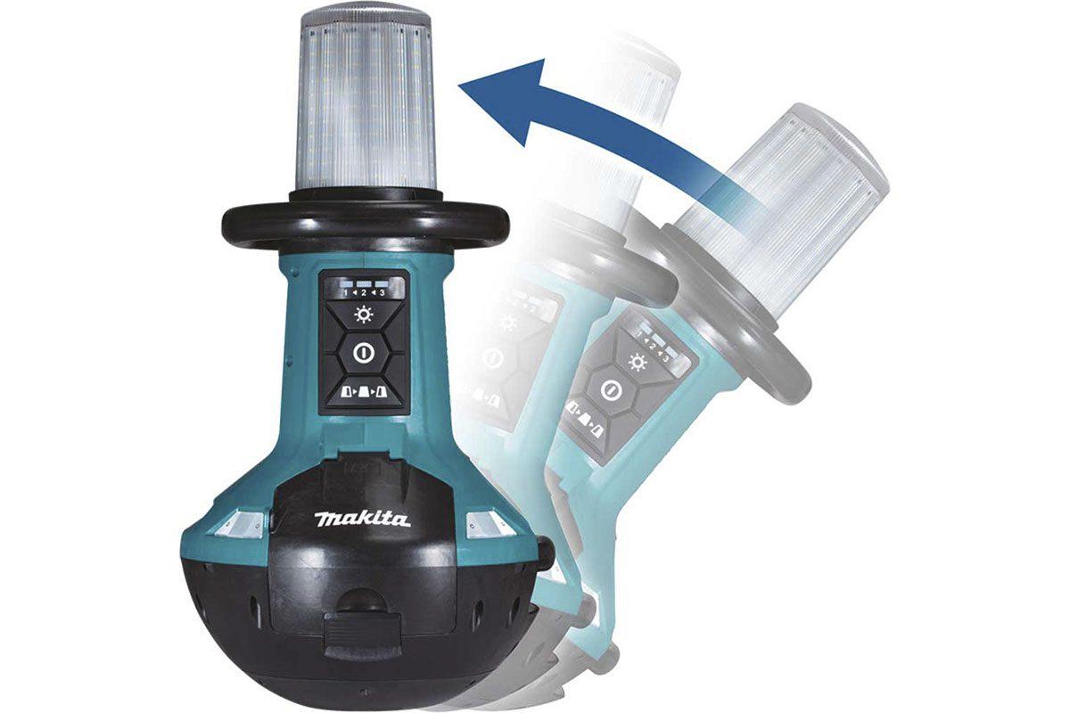 Thân đèn công trường dùng pin 18V Makita DML810