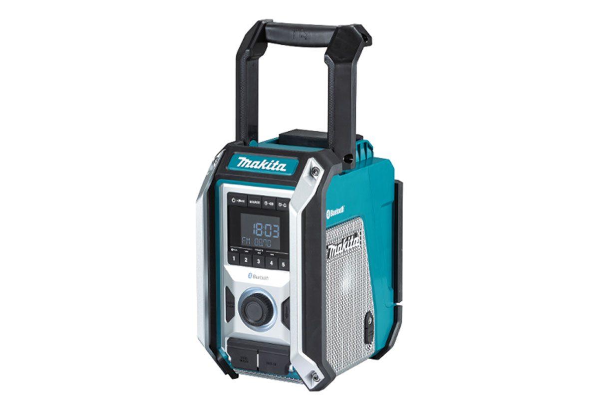 Radio công trường pin 18V/ 14.4V/ 12V và điện AC Makita DMR114