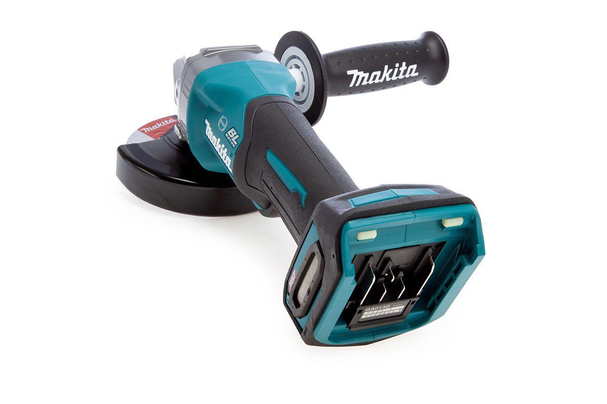 Thân máy mài góc pin 125mm pin 40V Makita GA013GZ