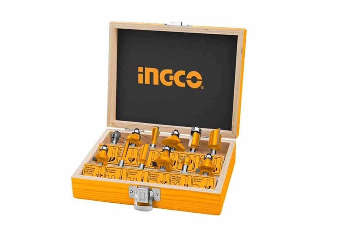 Bộ 12 mũi phay gỗ INGCO AKRT12141