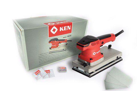 Máy chà nhám chữ nhật Ken 9235