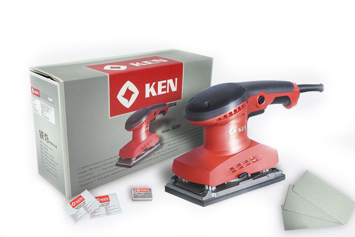 Máy chà nhám chữ nhật Ken 9280
