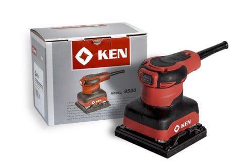 Máy chà nhám vuông Ken 9500