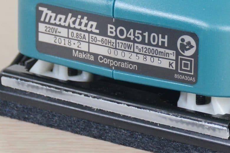 Makita Bo4510h 4
