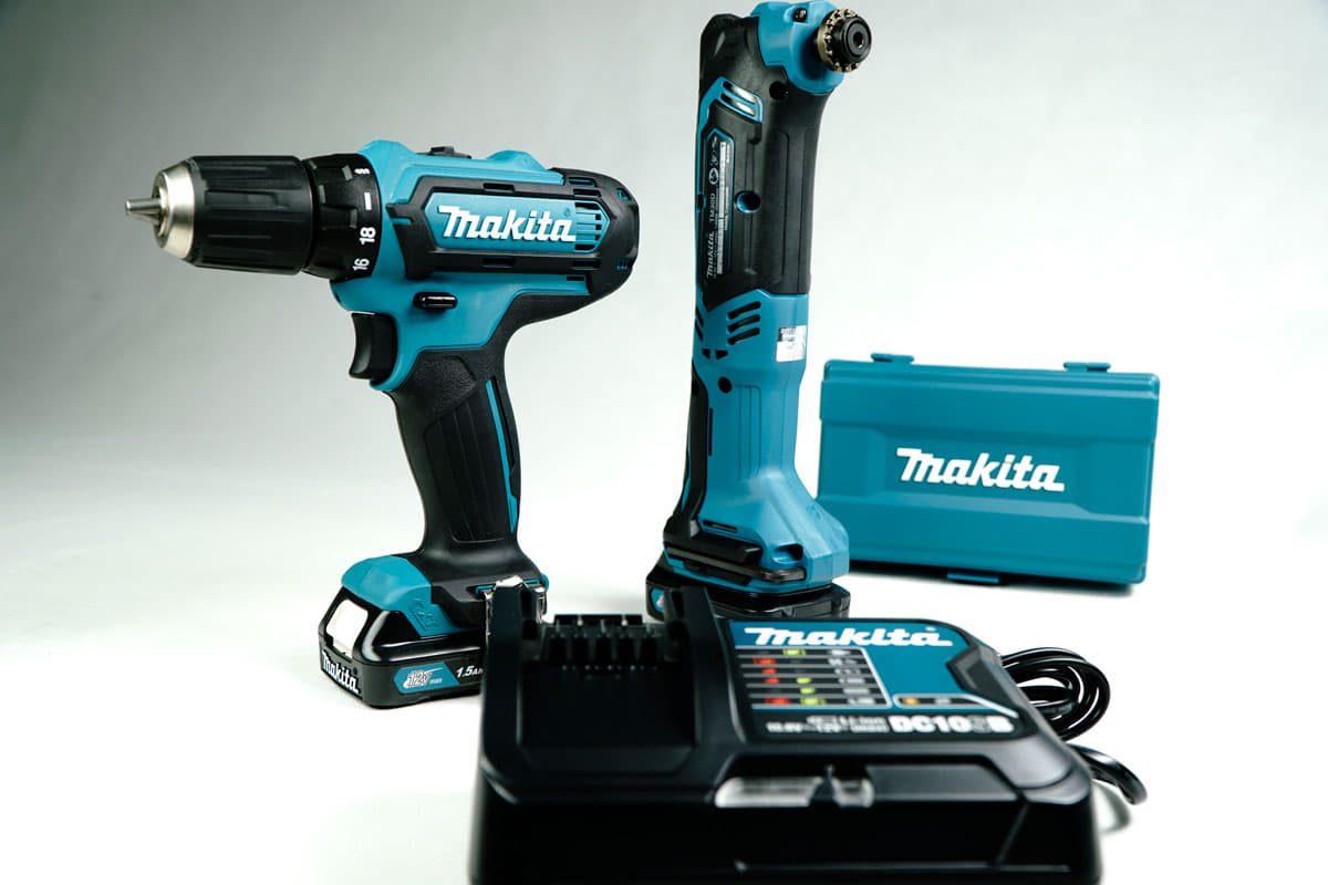 Bộ sản phẩm máy đa năng, máy khoan, vặn vít pin 12V Makita CLX225SX1