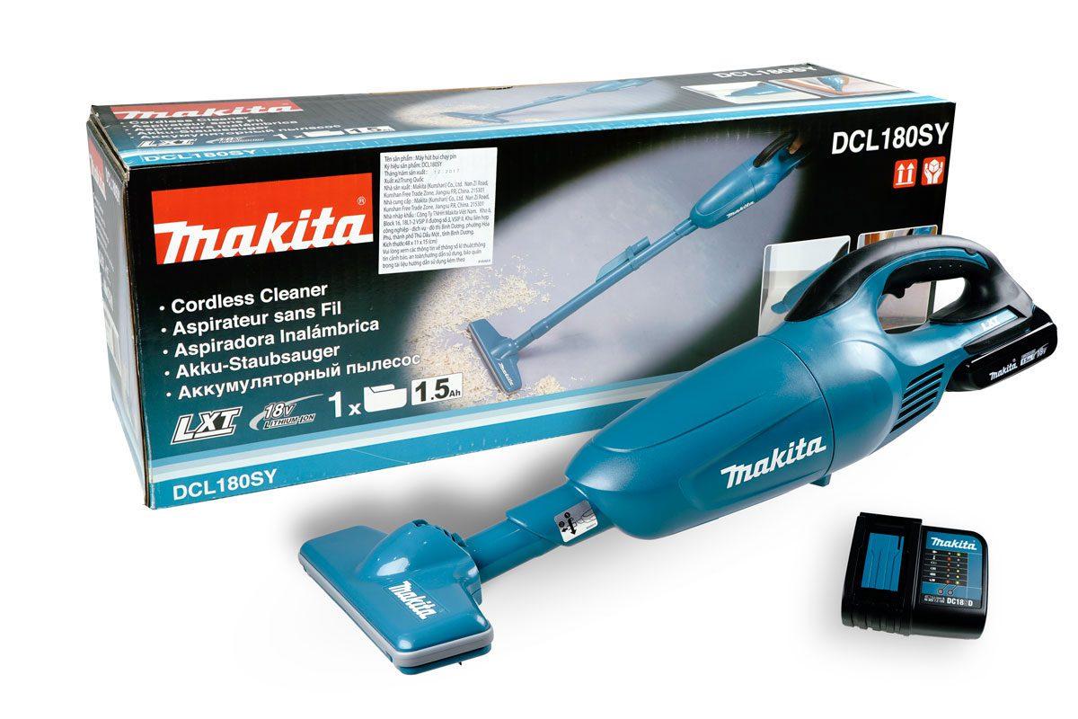 Máy hút bụi pin 18V Makita DCL180SY