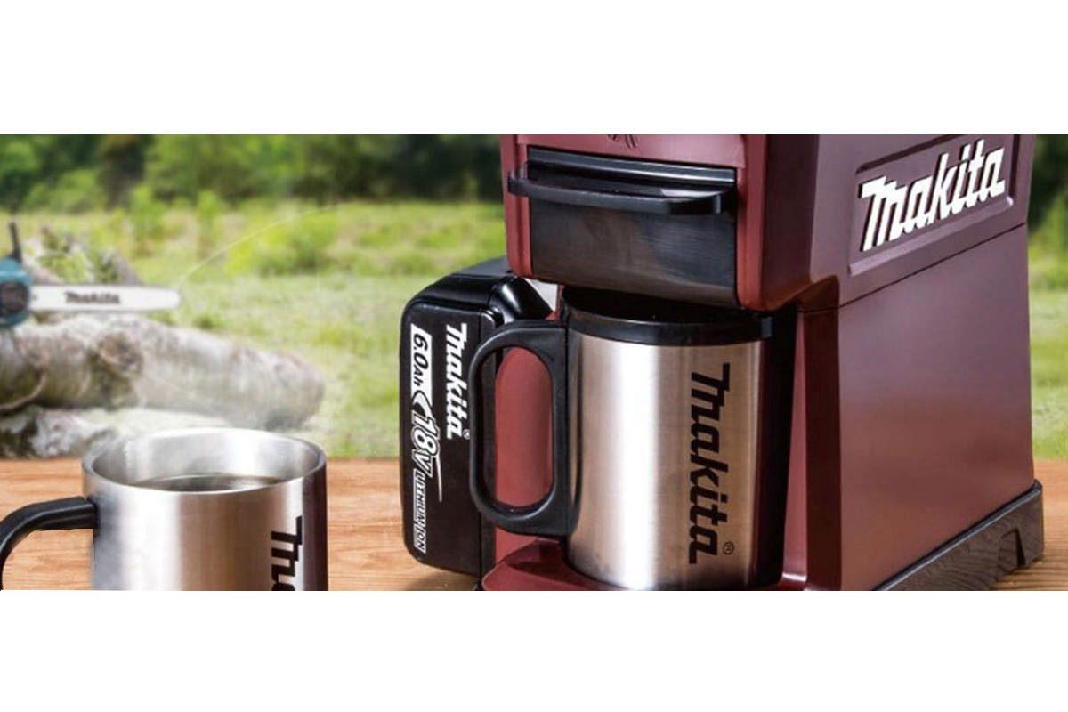 Máy pha cà phê pin 18V Makita DCM501ZAR