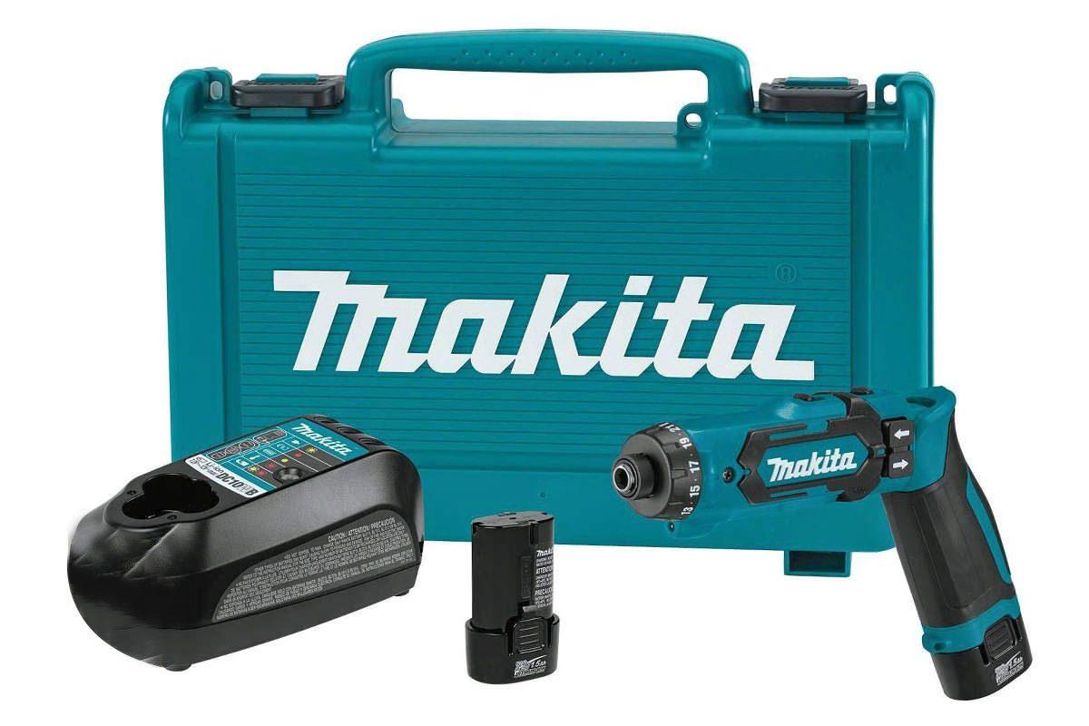 Máy khoan vặn vít pin 7.2V Makita DF012DSE
