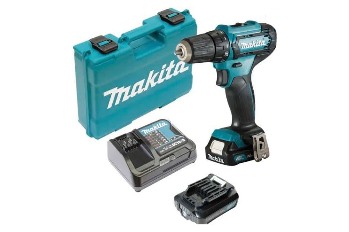 Máy khoan vặn vít pin 12V Makita DF333DSYE