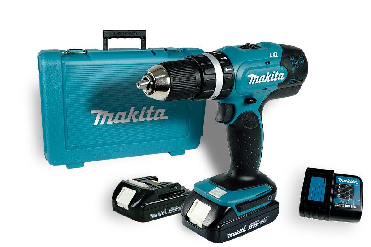 Máy khoan vặn vít pin 18V Makita DHP453SYE