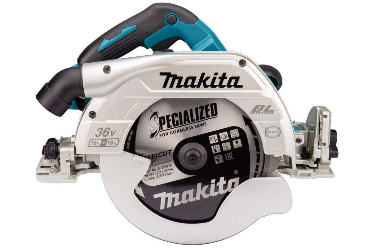 Thân máy cưa đĩa 235mm Pin 18V Makita DHS900Z