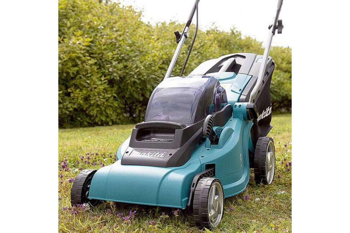 Máy cắt cỏ đẩy pin 18V Makita DLM380PM2