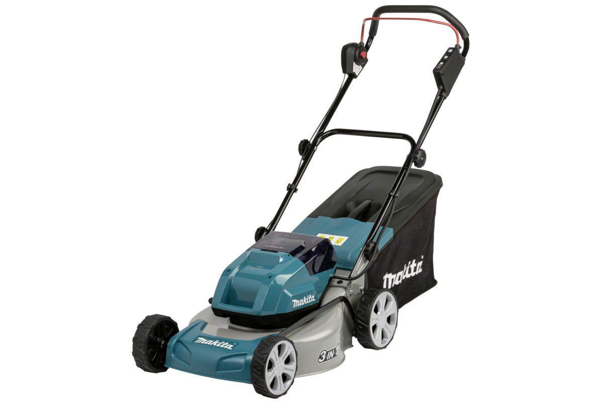 Thân máy cắt cỏ đẩy 2 pin 18V Makita DLM460Z