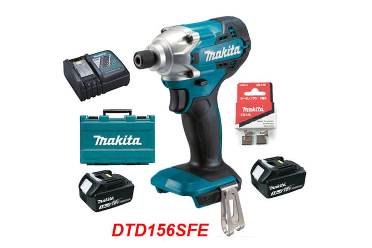 Máy vặn vít pin 18V Makita DTD156SFE
