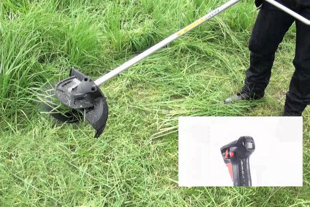 Thân máy cắt cỏ 2 pin 18V Makita DUR365UZ