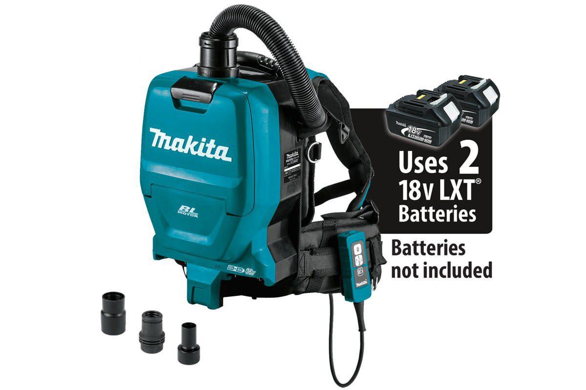 Thân máy hút bụi đeo vai 2 pin 18V Makita DVC260ZX