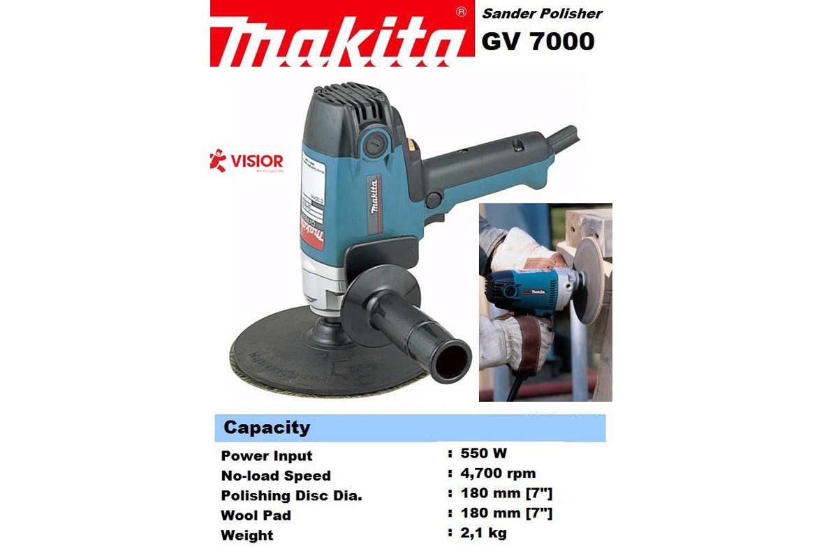 Máy chà nhám đĩa 180mm Makita GV7000