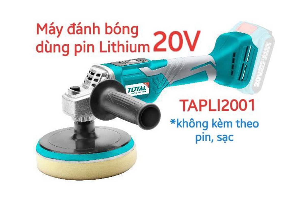 Máy đánh bóng 150mm pin 20V TOTAL TAPLI2001