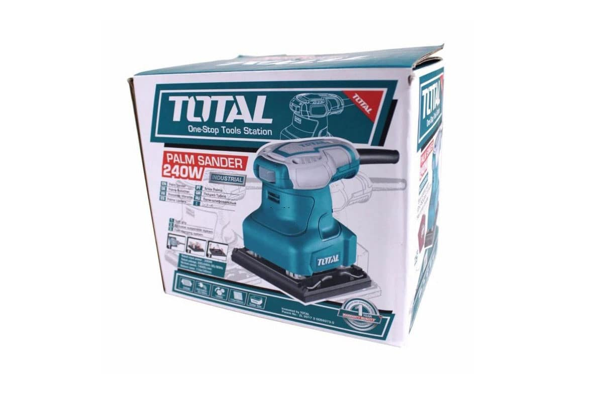 Máy chà nhám vuông 110mm Total TF2231106