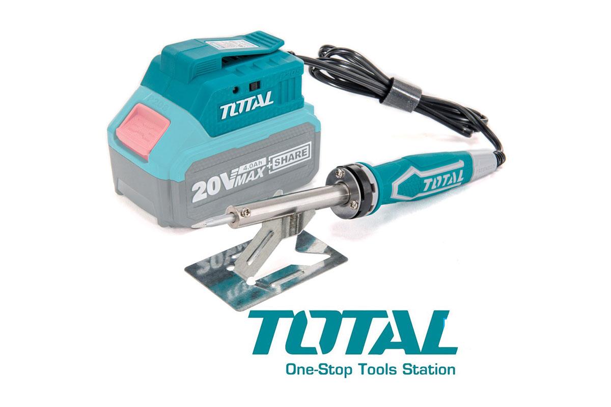 Máy hàn chì pin 20V Total TSILI2001
