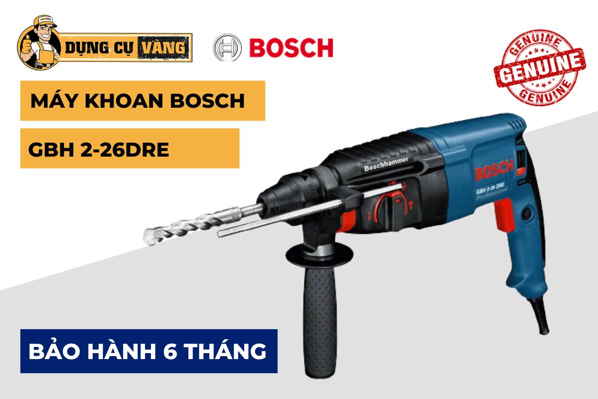 Máy khoan Bosch 3 chế độ GBH 2-26DRE