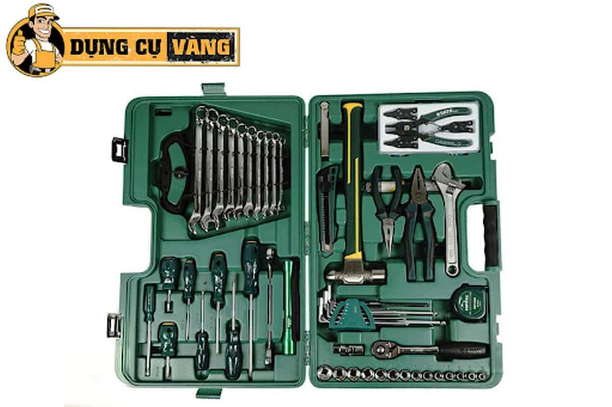 Bộ dụng cụ sửa chữa cơ khí chuyên nghiệp 58 Sata 09516