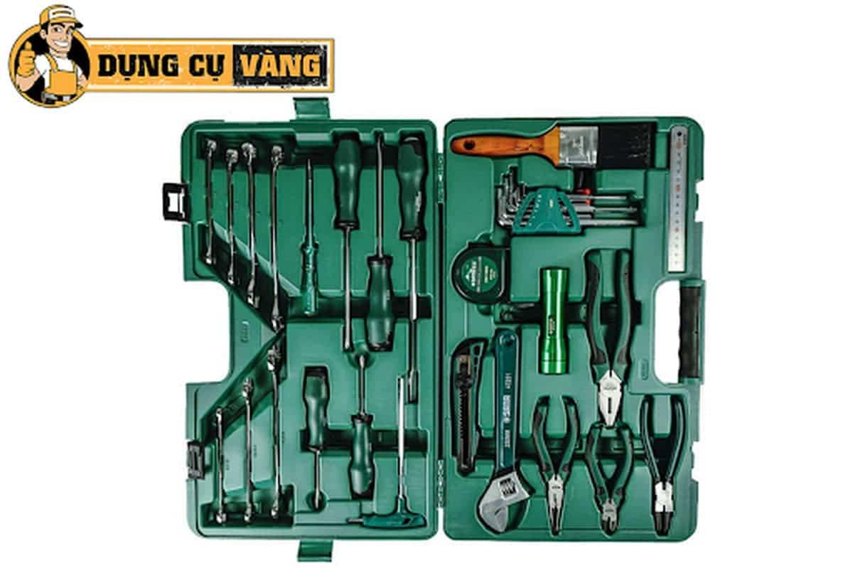 Bộ dụng cụ sửa điện chuyên nghiệp 53 chi tiết Sata 09535 chính hãng