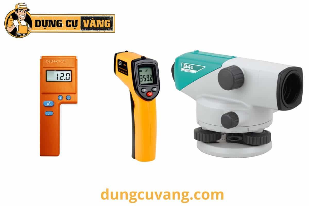 Các loại máy đo đạc