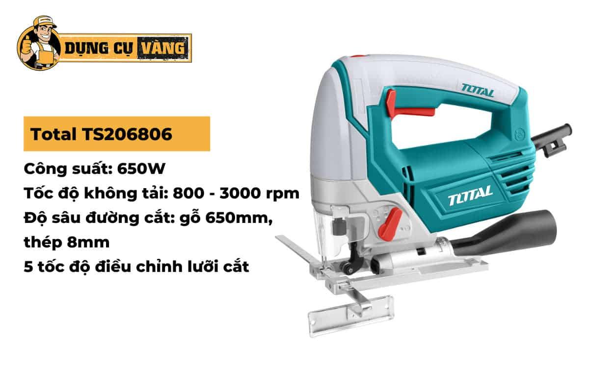 Máy cưa lọng Total TS206806.