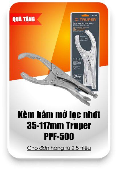 Qua Tang Kem Bam Mo Loc Nhot 35 117mm Truper Ppf 500 Sieu Thi Dung Cu Vang